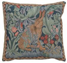 "Rabbit 2 William Morris Fine Art Home Decor Pillow Cushion Cover 14""x14"""