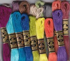 DMC-117 1 Skein PICK YOUR COLORS 3880-3895 NEW COLORS (#25 8.7 yds 100% Cotton)