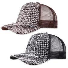 Djinns HFT Thick Jute Cap High Fitted Trucker Hat Mesh Kappe Basecap Schirmmütze