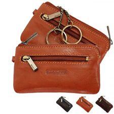 Branco Schlüsseltasche Leder Schlüsseletui Schlüsselmappe Auto Etui Tasche 7824