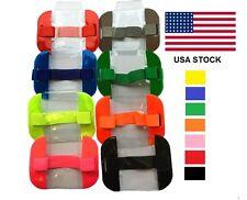 Security Reflective Arm Band with adjustable Strap & Badge Holder Pocket