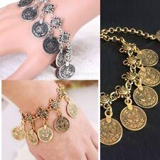 Eastern Turkish Ottoman Jewelry Bangle Chain Bracelet Tugra Turkish Middle