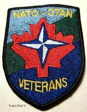 Canada Canadian NATO - OTAN Veterans Patch Badge