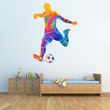 Piłka nożna Sztuka abstrakcyjna Naklejka Na ścianę WS-45264
