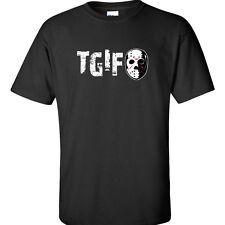 TGIF Jason Friday the 13th T-Shirt Movie DVD Parody T-Shirt