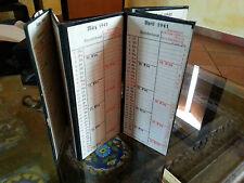 Taschenkalender Agenda Tascabile tedesca 1941