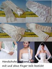 Brauthandschuhe Gloves Handschuhe Brautschmuck Hochzeit