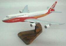 B-747-8 Intercontinental Boeing Airplane Desk Wood Model Big New