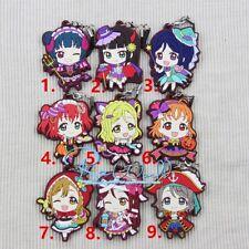 Anime Love Live! Lovelive! Sunshine!! Aqours Keychain Rubber Strap Phone Charm