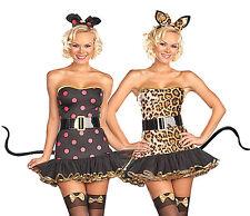 Teen Cat Costume Junior Sizes xs,s,m Dreamgirl 7008