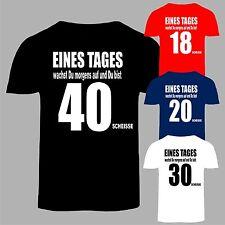Geburtstags Fun T-Shirt Geburtstag Geschenk 18, 20, 30, 40 ,50, 60 usw.