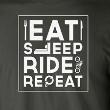 EAT SLEEP RIDE REPEAT T-Shirt bike motorcycle lifestyle biker riding