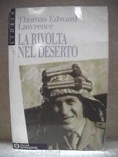 LA RIVOLTA NEL DESERTO T E Lawrence Mondadori 1991 prima guerra mondiale turchi