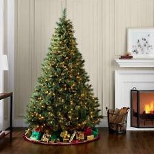 7/ 6 ft Christmas Holidays Fiber Tree 350 LED Lights Pre Lit Indoor Outdoor Tall