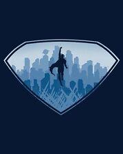 SUPERMAN Man of Steel Kal-El Last Son Krypton Limited Ed. Mens T-Shirt - Medium