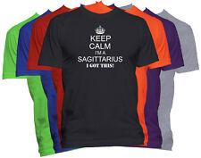 Keep Calm I'm A SAGITTARIUS T-Shirt Zodiac Sign Funny Tee