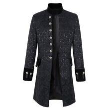 Steampunk Mantel Jacke Herren Morgenmantel männlich Langarm L ~ 3XL Victorian