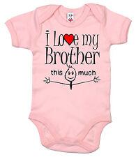 "Funny Baby Body ""J' aime mon frère Frères Frère & soeur Sisters"""