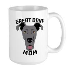 CafePress Great Dane Mom Coffee Mug, Large 15 oz. White Coffee Cup (207083873)