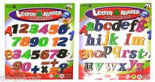 Magnetic Alphabet Number Sets - Letter Fridge Magnets - Plastic Magnet Sets