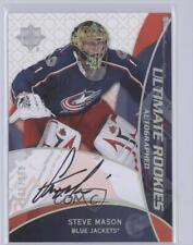 2008 Ultimate Collection #91 Steve Mason Columbus Blue Jackets Auto Hockey Card