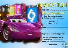 5 oder 12 geburtstag einladungskarten CAR REF 26 mit/ohne thomas bedruckt