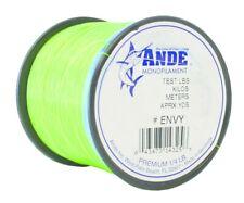 Ande A14-80GE Premium Mono 80Lb 150Yds Green Hi-Vis 1/4Lb Fishing Line