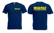 """""""Bomb Squad Specialist"""" Fun T-Shirt NSA CIA US Army Bomben Kommando Gr S-XXL"""