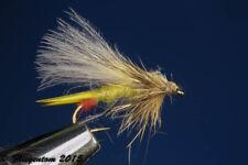 Fliegentom dry fly 3 pieces Yellow Sally