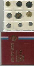 SAN MARINO SERIE DIVISIONALE SET UFFICIALE ZECCA 1985 con BIMETALLICO LIRE 500