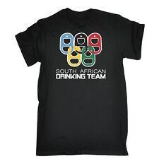 South African Drinking Team Funny Joke Bar Pub Ring T-SHIRT Birthday gift Cool
