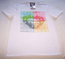 Lady Gaga Haus Of Gaga Mens White T Shirt Size L New