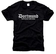 Dortmund You'll never walk alone - T-Shirt- Gr. S bis XXL