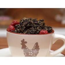 Decaf Cherry Gourmet Tea Loose Leaf China Blended Black or Green Tea Leaves