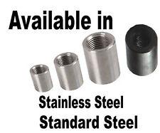 RIGHT LEFT HAND Threaded Insert Tube Adaptor Rose Joint Joiner Stainless Steel