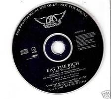 Aerosmith - Eat the rich (1993) UK PROMO CD Si + Rel-date-Str