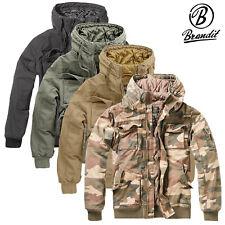 Brandit señores bronx chaqueta Men Jacket invierno chaqueta parka con capucha S M L XL XXL