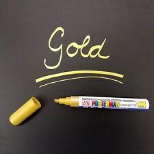 ZIG Posterman Kreidemarker Tafelstift Glasschreiber 2-6 mm Spitze - gold
