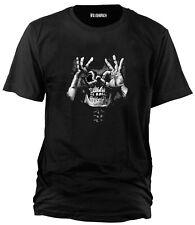 Wolkenbruch® T-Shirt Herren LUCTUS SKULL HANDS Gr.M bis XXXXXL