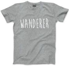 WANDERER - Travelling Gap Year Vacation Adventure Mens Unisex T-Shirt