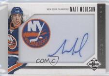 2012-13 Panini Limited #M-MM Matt Moulson New York Islanders Auto Hockey Card
