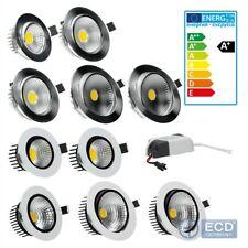 LED COB Einbaustrahler Einbauleuchte Strahler Leuchtmittel Licht 3W - 12W