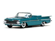 Chevrolet Impala Modell 1959 Crown Sapphire Maßstab 1:43