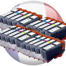 Lot cartouches d'encre compatible pour les imprimantes Canon IP MG MX MP Pixma