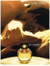 PUBLICITE ADVERTISING   2003     LANCOME  parfum ATTRACTION               110113