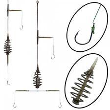 Komplett Fertigmontage 2 oder 3 Vorfächer/Rigs Spiral Method Spring Inline Innen