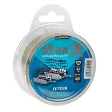 C-TEC  Mono X FEEDER  Brown  Zielfisch -Schnur von SPRO