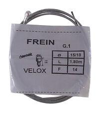 VELOX FILO / CAVO CAMBIO FRENO ANTERIORE D6L11 15/10 1.8M VINTAGE EPOCA BICI MTB