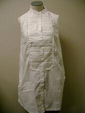 Sutton Studio Sleeveless Tunic Dress with Bib  4 NWT