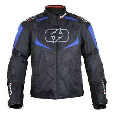 Oxford Melbourne 2.0 Black/Blue Motorcycle Waterproof Textile - Sports Jacket